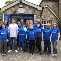 Zurich Life employees completed a day's volunteering at the ISPCA National Animal Centre